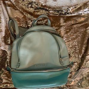 Two tone Michael Kors backpack